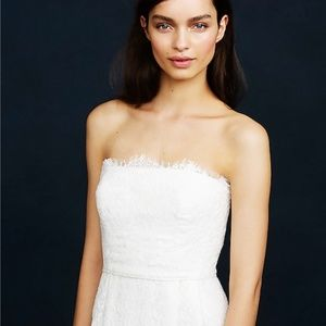 J.Crew Eyelash Lace Wedding Gown (JCrew)